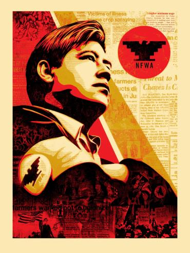 WORKERS' RIGHTS © OBEY GIANT ART/SHEPARD FAIREY