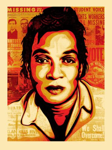 VOTING RIGHTS ACT © OBEY GIANT ART/SHEPARD FAIREY