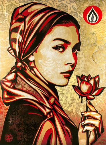 NATURAL SPRINGS © OBEY GIANT ART/SHEPARD FAIREY