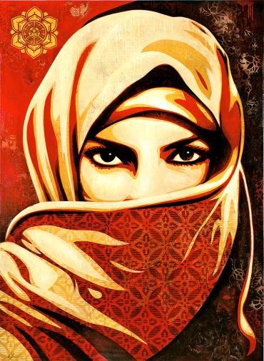 UNIVERSAL PERSONHOOD © OBEY GIANT ART/SHEPARD FAIREY